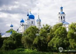 orthodoxy monastery in Bogolyubovo