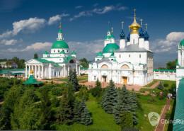Spaso-Yakovlevsky Monastery in Rostov, Russia.