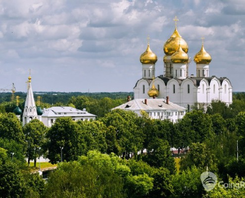 Cathedral of Assumption of Blessed Virgin Mary in Russia