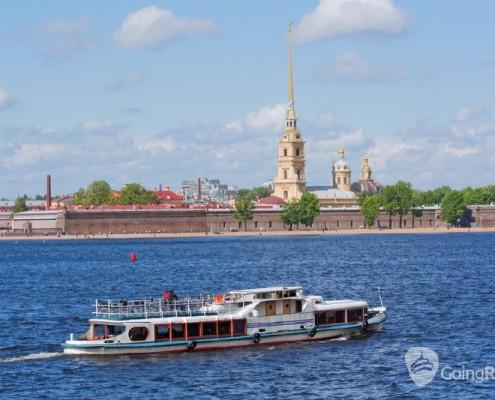 Water transport in Saint Petersburg